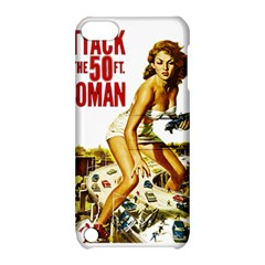 Attack Of The 50 Ft Woman Apple Ipod Touch 5 Hardshell Case With Stand by Valentinaart