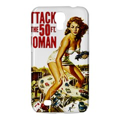 Attack Of The 50 Ft Woman Samsung Galaxy Mega 6 3  I9200 Hardshell Case by Valentinaart