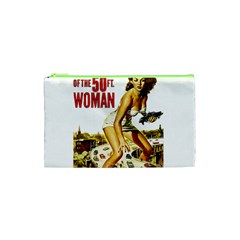 Attack Of The 50 Ft Woman Cosmetic Bag (xs) by Valentinaart
