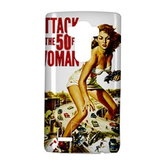 Attack Of The 50 Ft Woman Lg G4 Hardshell Case by Valentinaart