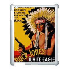 White Eagle Apple Ipad 3/4 Case (white) by Valentinaart