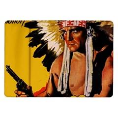 White Eagle Samsung Galaxy Tab 10 1  P7500 Flip Case by Valentinaart