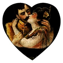 Carmen Jigsaw Puzzle (heart) by Valentinaart