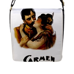 Carmen Flap Messenger Bag (l)  by Valentinaart