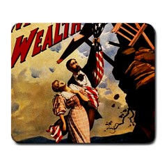 The War Of Wealth Large Mousepads by Valentinaart