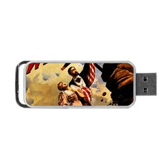 The War Of Wealth Portable Usb Flash (one Side) by Valentinaart