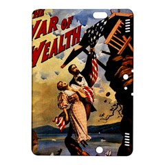 The War Of Wealth Kindle Fire Hdx 8 9  Hardshell Case by Valentinaart