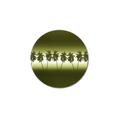 Tropical Sunset Golf Ball Marker by Valentinaart