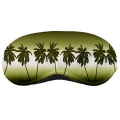 Tropical Sunset Sleeping Masks by Valentinaart