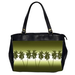 Tropical Sunset Office Handbags (2 Sides)  by Valentinaart