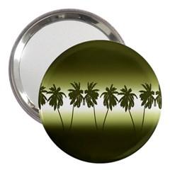 Tropical Sunset 3  Handbag Mirrors by Valentinaart