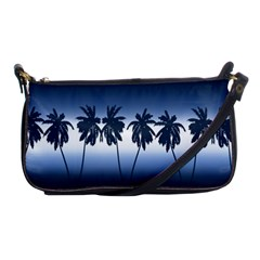 Tropical Sunset Shoulder Clutch Bags by Valentinaart