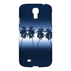 Tropical Sunset Samsung Galaxy S4 I9500/i9505 Hardshell Case by Valentinaart