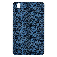 Damask2 Black Marble & Blue Colored Pencil (r) Samsung Galaxy Tab Pro 8 4 Hardshell Case by trendistuff
