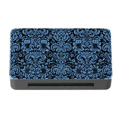 Damask2 Black Marble & Blue Colored Pencil Memory Card Reader With Cf by trendistuff