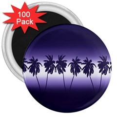 Tropical Sunset 3  Magnets (100 Pack) by Valentinaart