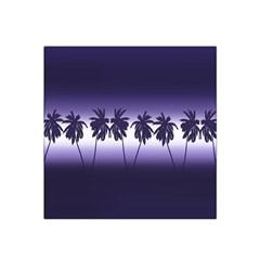 Tropical Sunset Satin Bandana Scarf by Valentinaart