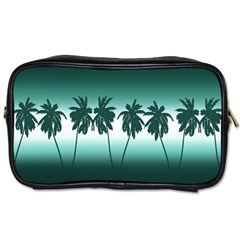 Tropical Sunset Toiletries Bags by Valentinaart