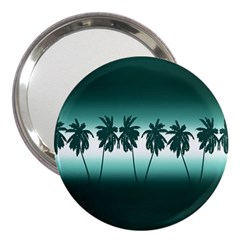 Tropical Sunset 3  Handbag Mirrors by Valentinaart