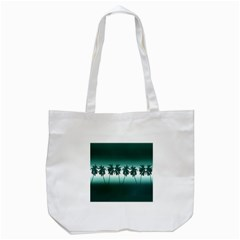 Tropical Sunset Tote Bag (white) by Valentinaart