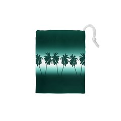 Tropical Sunset Drawstring Pouches (xs)  by Valentinaart