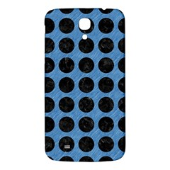 Circles1 Black Marble & Blue Colored Pencil (r) Samsung Galaxy Mega I9200 Hardshell Back Case by trendistuff