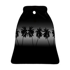 Tropical Sunset Bell Ornament (two Sides) by Valentinaart