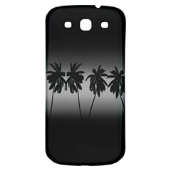 Tropical Sunset Samsung Galaxy S3 S Iii Classic Hardshell Back Case by Valentinaart