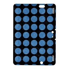 Circles1 Black Marble & Blue Colored Pencil Kindle Fire Hdx 8 9  Hardshell Case by trendistuff