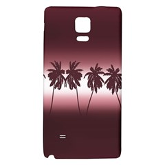 Tropical Sunset Galaxy Note 4 Back Case by Valentinaart