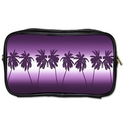 Tropical Sunset Toiletries Bags 2 Side by Valentinaart