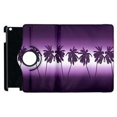 Tropical Sunset Apple Ipad 3/4 Flip 360 Case by Valentinaart