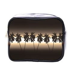 Tropical Sunset Mini Toiletries Bags by Valentinaart