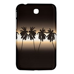 Tropical Sunset Samsung Galaxy Tab 3 (7 ) P3200 Hardshell Case  by Valentinaart
