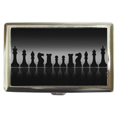 Chess Pieces Cigarette Money Cases by Valentinaart