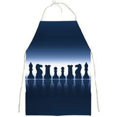 Chess Pieces Full Print Aprons by Valentinaart