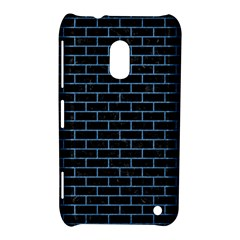 Brick1 Black Marble & Blue Colored Pencil Nokia Lumia 620 Hardshell Case by trendistuff