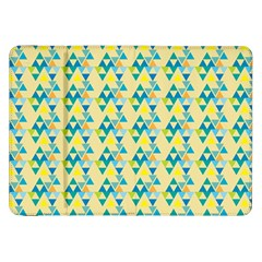 Colorful Triangle Pattern Samsung Galaxy Tab 8 9  P7300 Flip Case by berwies