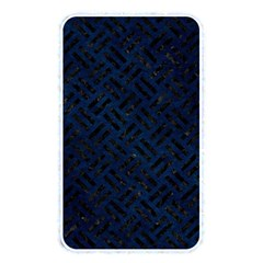 Woven2 Black Marble & Blue Grunge (r) Memory Card Reader (rectangular) by trendistuff