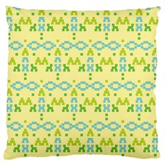 Simple Tribal Pattern Large Cushion Case (two Sides) by berwies