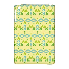 Simple Tribal Pattern Apple Ipad Mini Hardshell Case (compatible With Smart Cover) by berwies