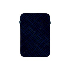 Woven2 Black Marble & Blue Grunge (r) Apple Ipad Mini Protective Soft Case by trendistuff