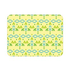 Simple Tribal Pattern Double Sided Flano Blanket (mini)  by berwies