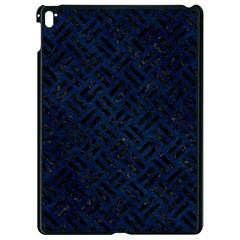 Woven2 Black Marble & Blue Grunge (r) Apple Ipad Pro 9 7   Black Seamless Case by trendistuff