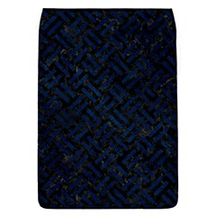 Woven2 Black Marble & Blue Grunge Removable Flap Cover (s) by trendistuff