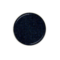 Woven1 Black Marble & Blue Grunge Hat Clip Ball Marker (4 Pack) by trendistuff