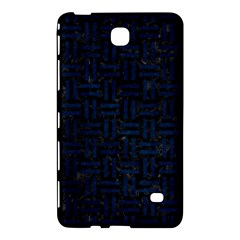 Woven1 Black Marble & Blue Grunge Samsung Galaxy Tab 4 (7 ) Hardshell Case  by trendistuff