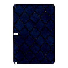 Tile1 Black Marble & Blue Grunge (r) Samsung Galaxy Tab Pro 10 1 Hardshell Case by trendistuff