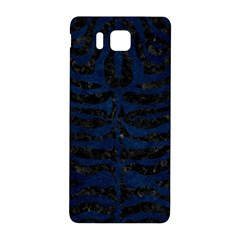 Skin2 Black Marble & Blue Grunge Samsung Galaxy Alpha Hardshell Back Case by trendistuff