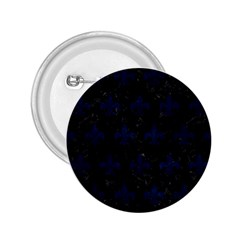 Royal1 Black Marble & Blue Grunge (r) 2 25  Button by trendistuff